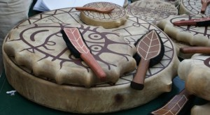 бубен шаманский